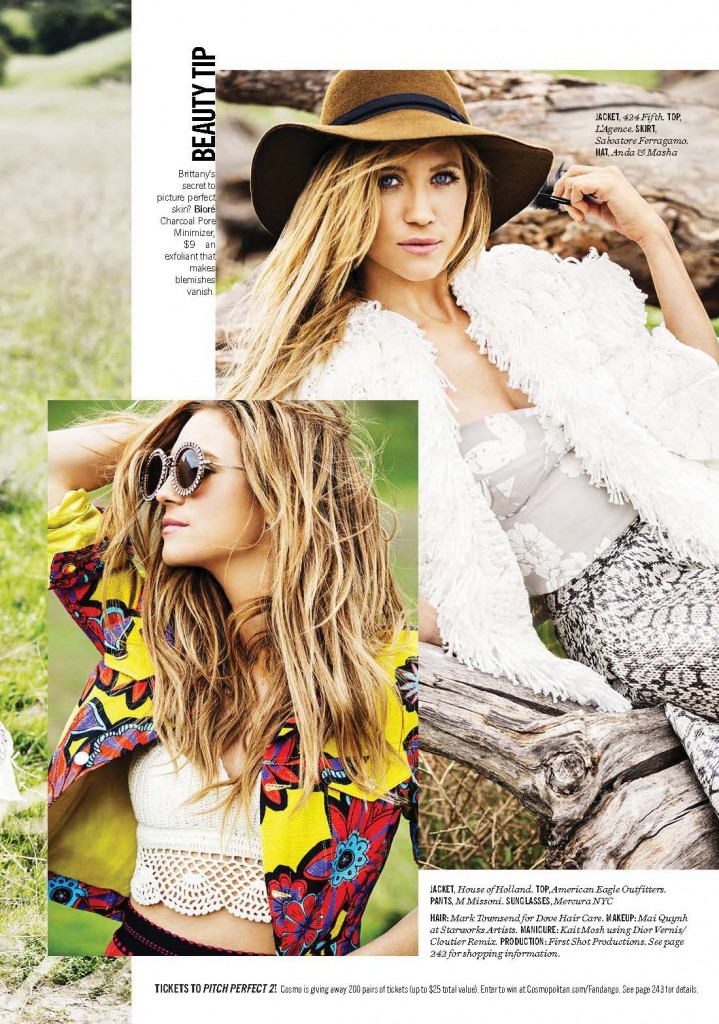 Cosmopolitan - Brittany Snow (1)