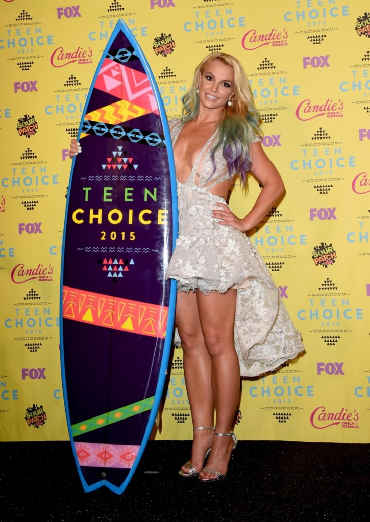 Britney Spears - Teen Choice 2015 (3)