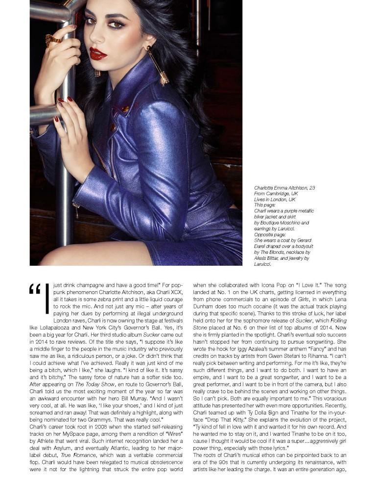 The Untitled Magazine GirlPower Issue - Charli XCX (4)