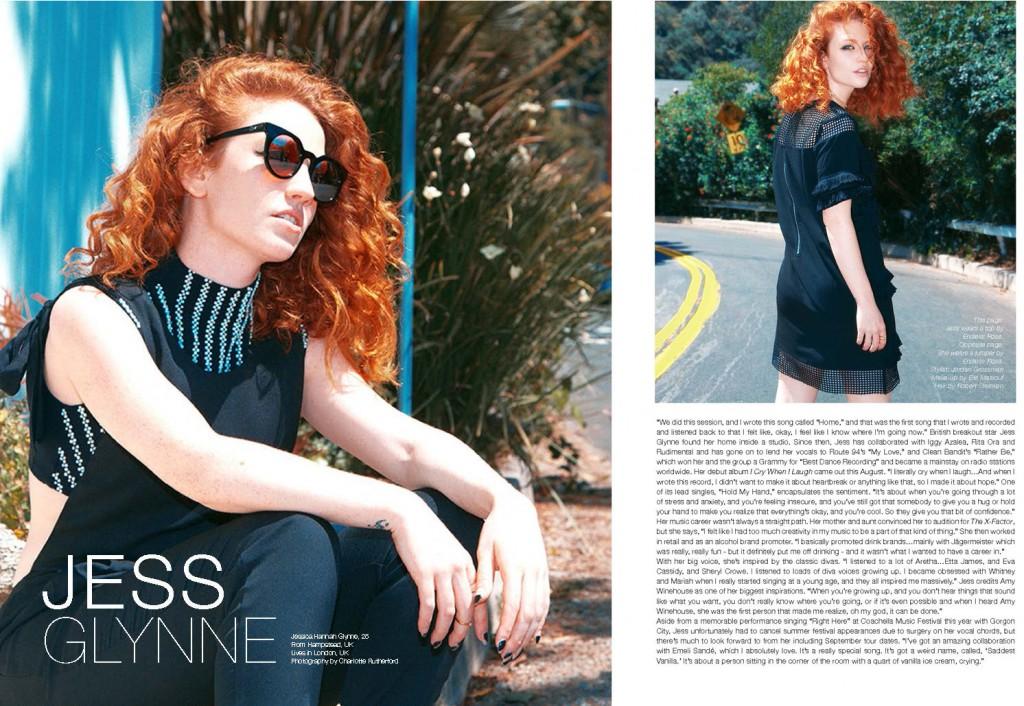 The Untitled Magazine GirlPower Issue - Jess Glynne (1)