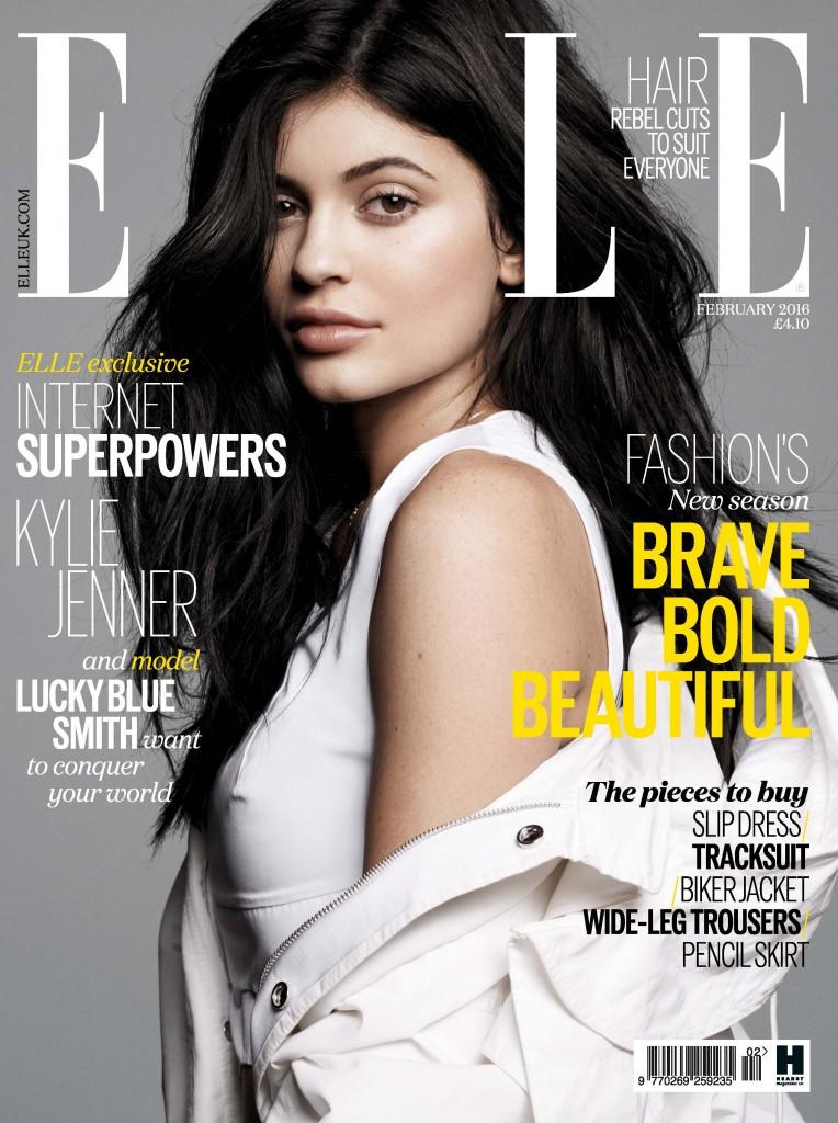 Elle - UK - Kylie Jenner (1)