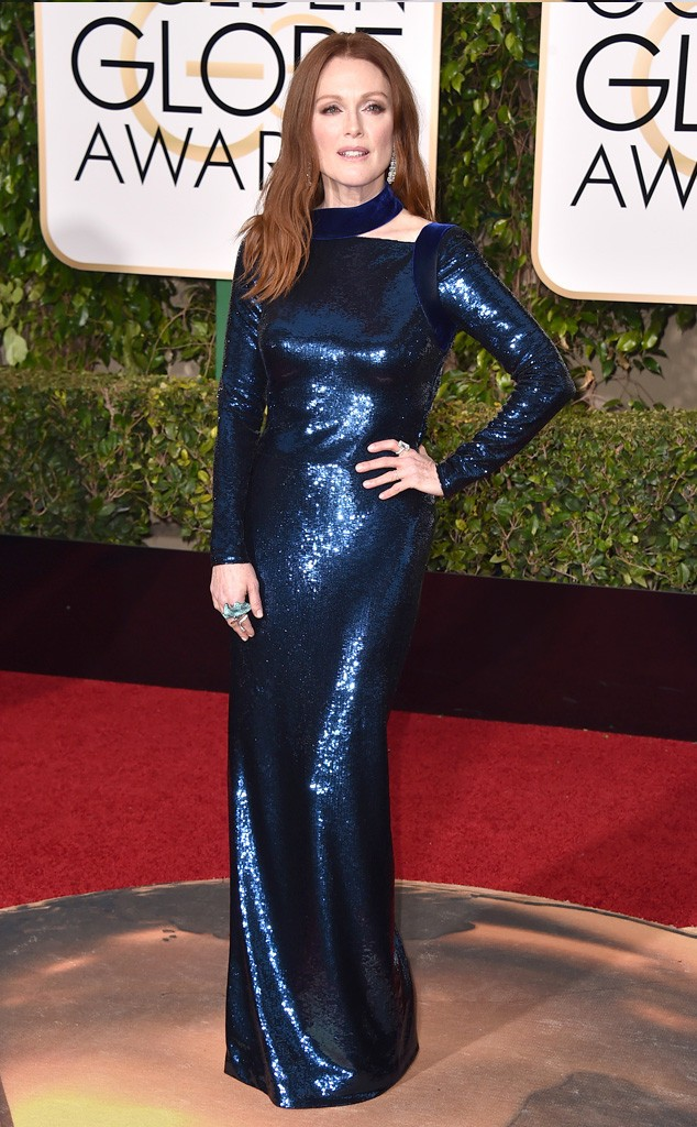 Julianne Moore - 2016 Golden Globes (1)