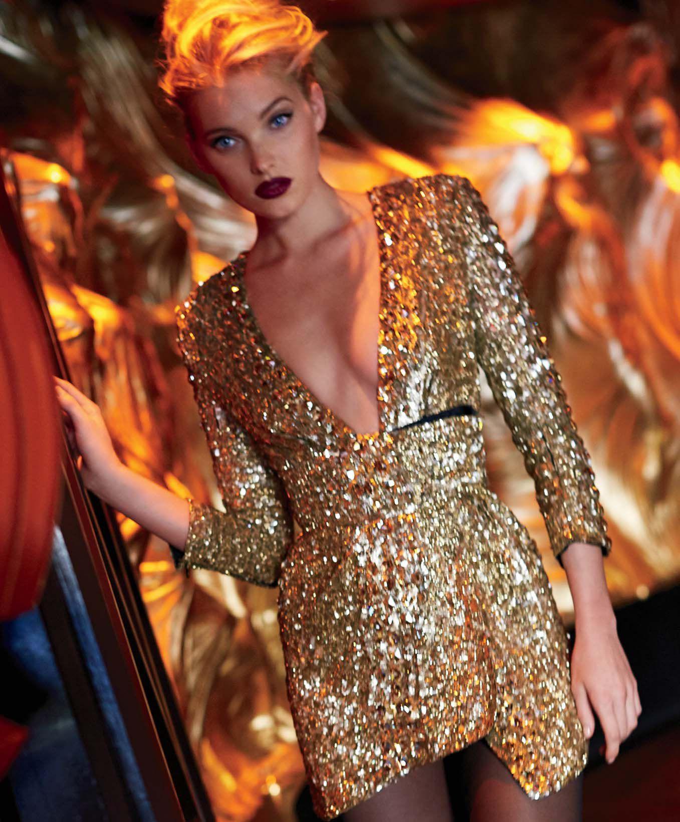 Elsa Hosk Scores in Maxim | Cloutier Remix