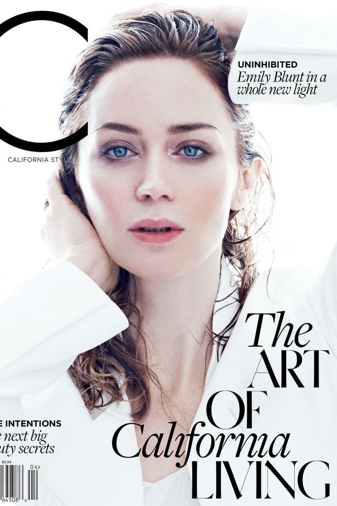 C Magazine - Emily Blunt (1)