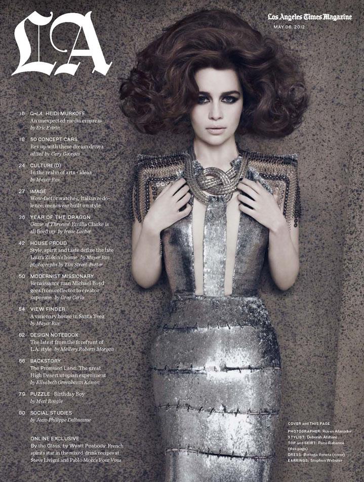 LATM- Emilia Clarke - Ph Ruven Afanfor (1)web