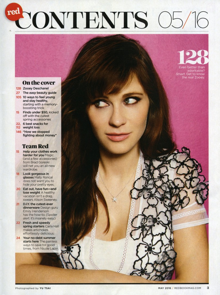 Redbook - Zooey Deschanel (2)