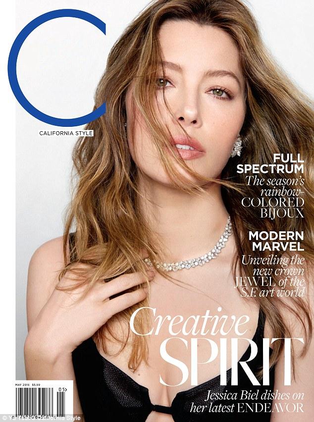 C Magazine - Jessica Biel (1)