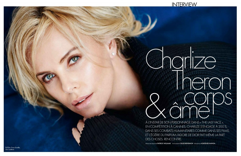 Elle - France - Charlize Theron (3)