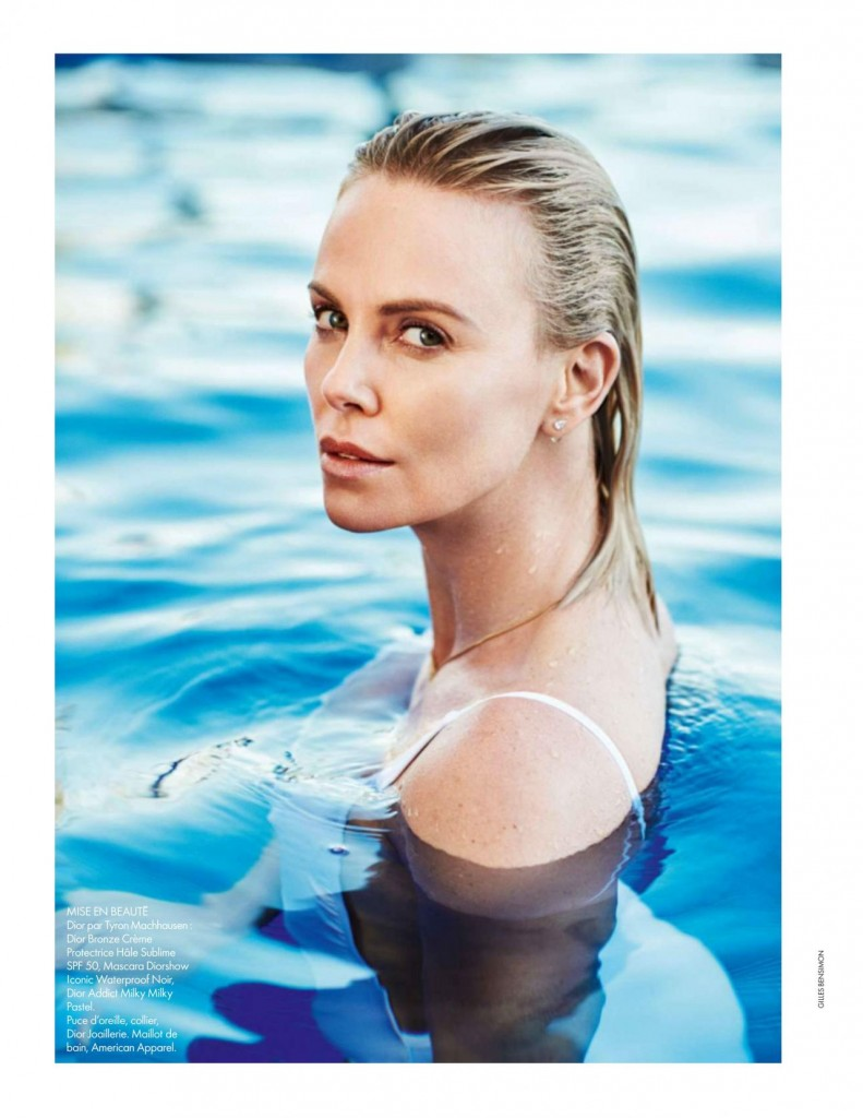 Elle - France - Charlize Theron (6)