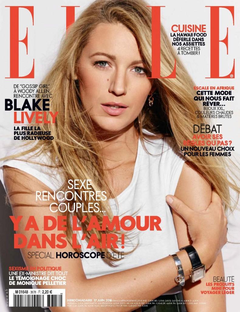 Elle France - Blake Lively (1)