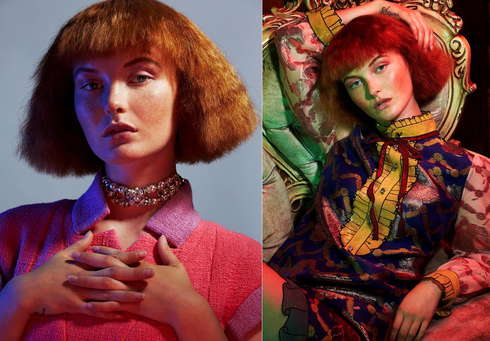 Paper Mag - Kacy Hill double-1