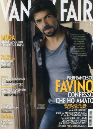 Vanity Fair Italy Oct 2008 - Pierfrancesco Favino