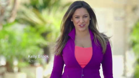 Helge Gjerstad In Skechers Air Cooled Memory Foam With Kelly Brook-1