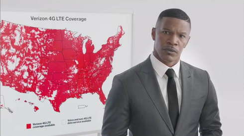 Verizon - Jamie Foxx commercial-web