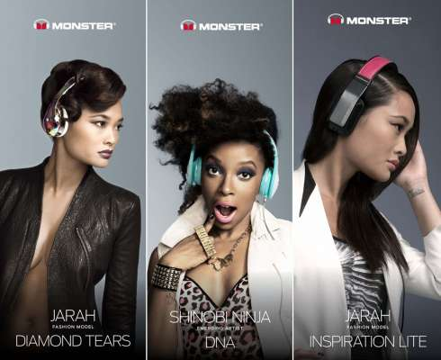 Monster headphones ladies-1
