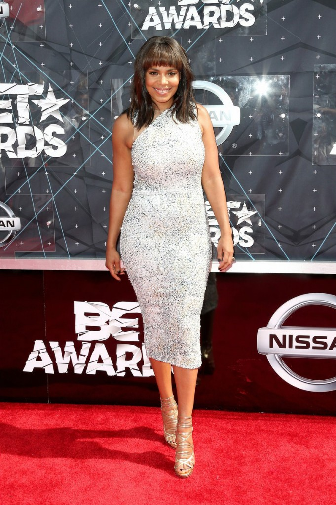 Sanaa Lathan - 2015 BET Awards (2)