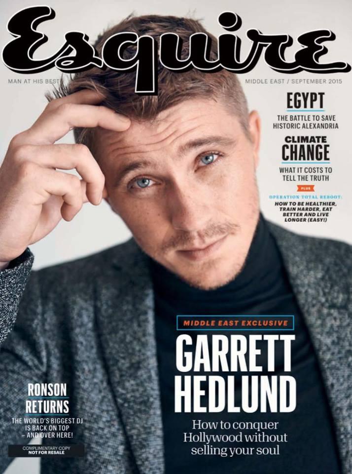 Esquire - Garrett Hedlund (1)