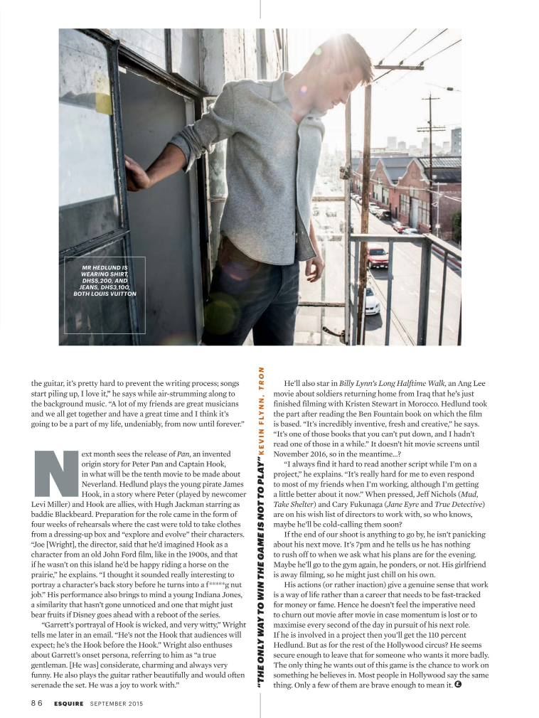 Esquire - Garrett Hedlund (8)