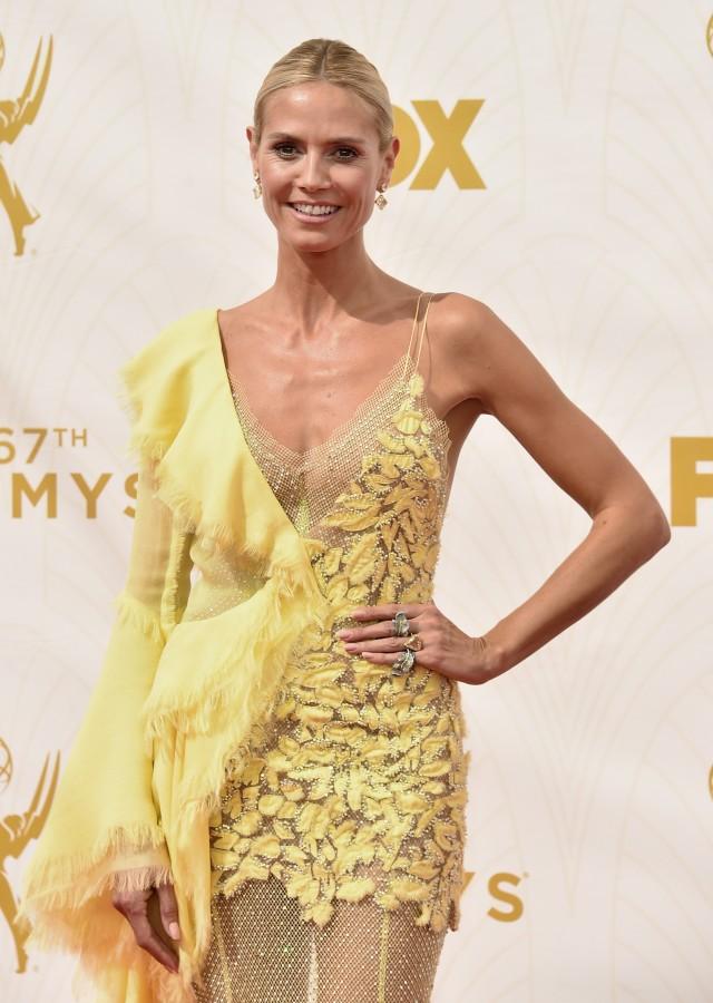 Heidi Klum - 2015 Emmys (4)
