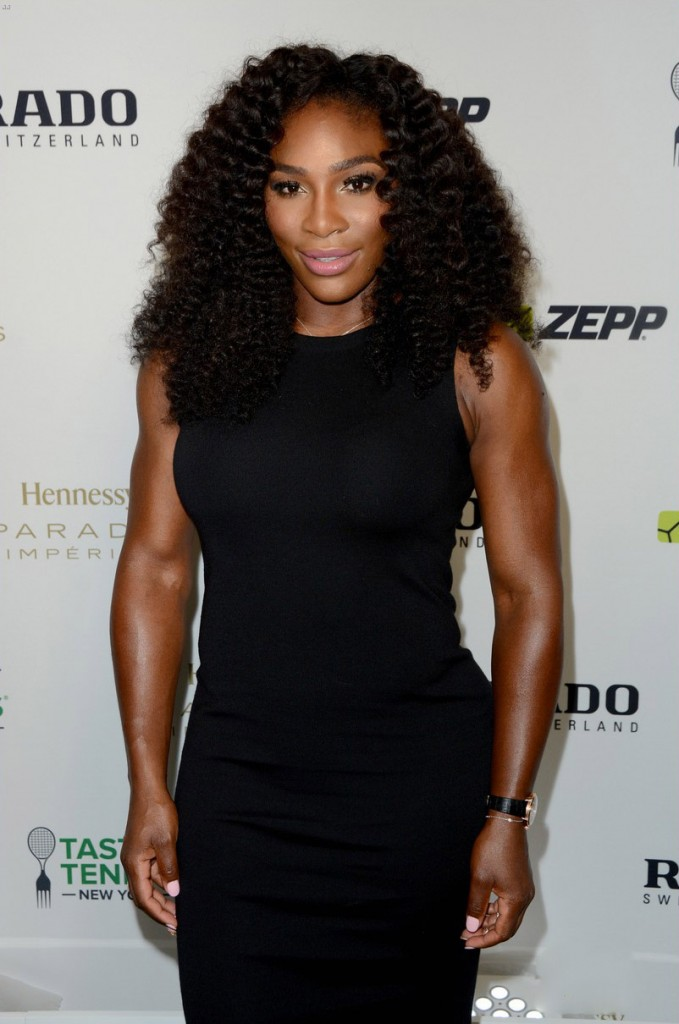 Taste of Tennis Week: Taste of Tennis Gala - Red Carpet Arrivals Featuring: Serena Williams Where: New York City, New York, United States When: 27 Aug 2015 Credit: Ivan Nikolov/WENN.com