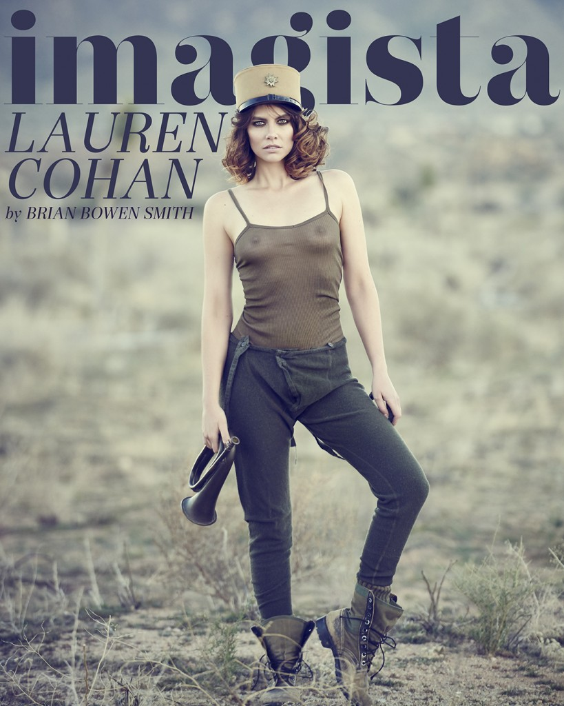 Lauren Cohan - Imagista Magazine (2)