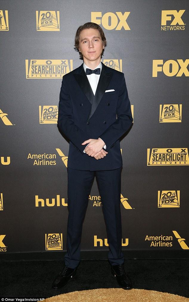 Paul Dano - 2016 Golden Globes (1)