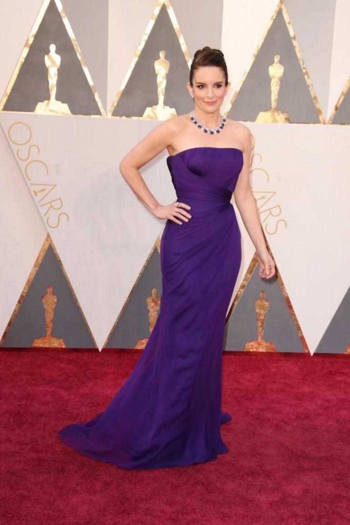 Tina Fey - 2016 Oscars (3)