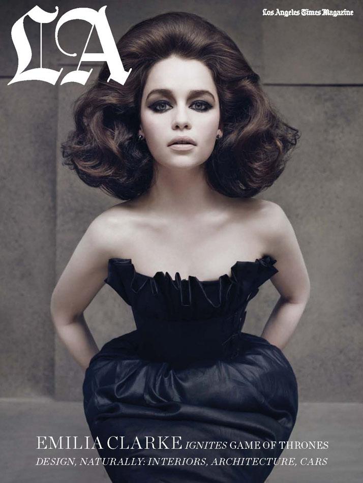 LATM- Emilia Clarke - Ph Ruven Afanfor (1)