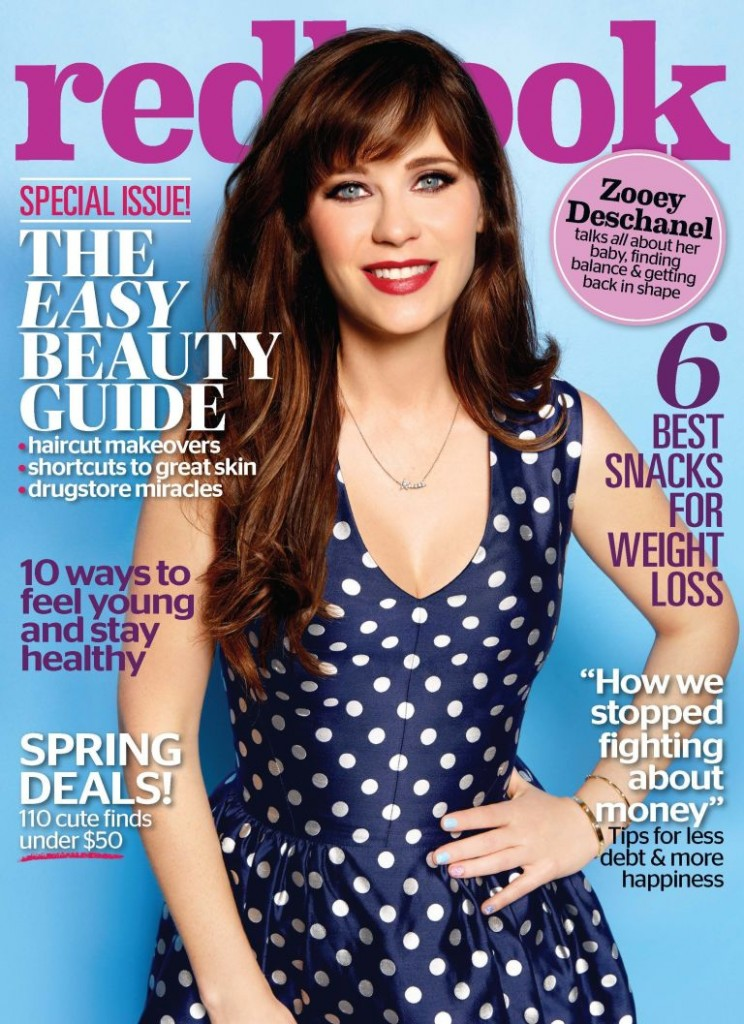 Redbook - Zooey Deschanel (1)