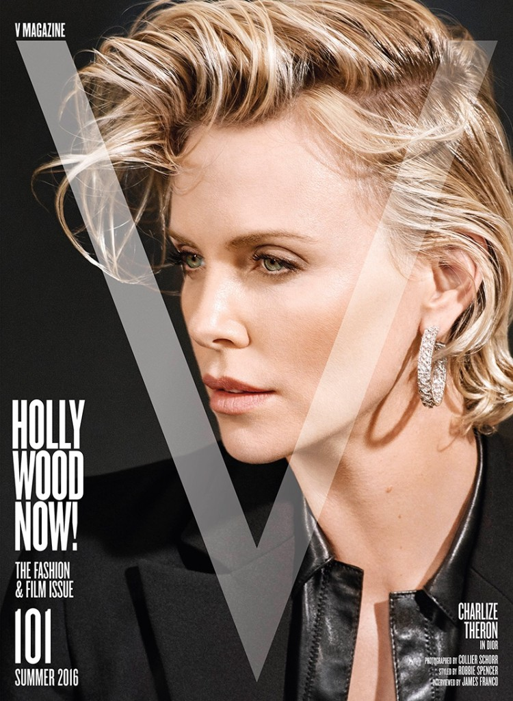 Charlize Theron- V Magazine (1)