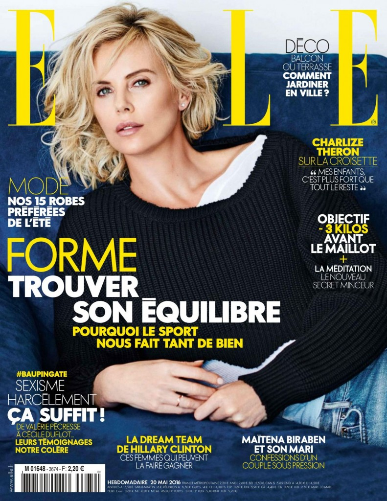 Elle - France - Charlize Theron (1)