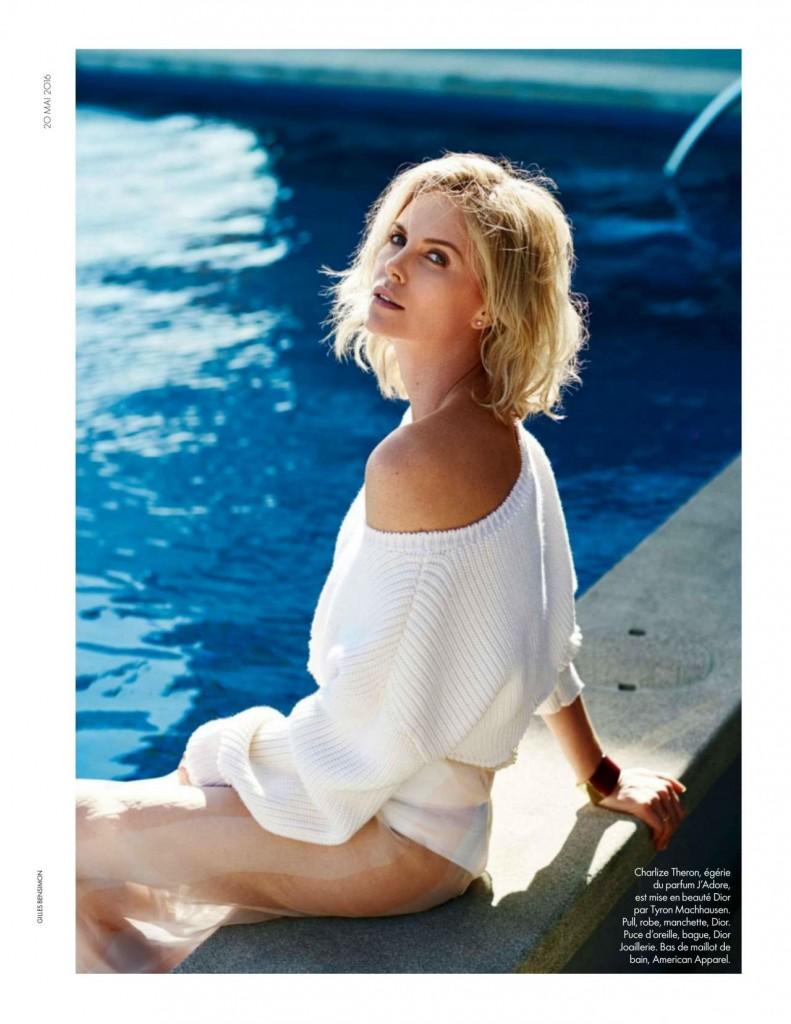 Elle - France - Charlize Theron (4)