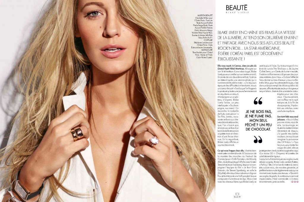 Elle France - Blake Lively (5)